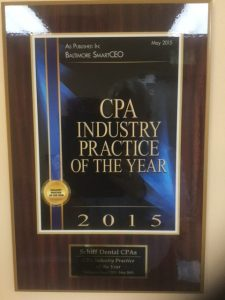 Schiff CPA 2015 Industry Practice of the Year